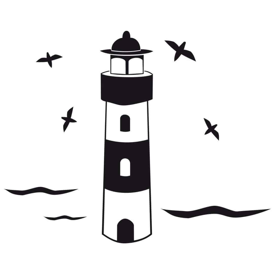 Lighthouse Wall Sticker