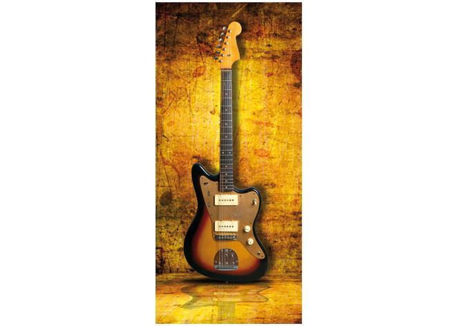 Poster De Porte Guitare Rock Wall Artfr