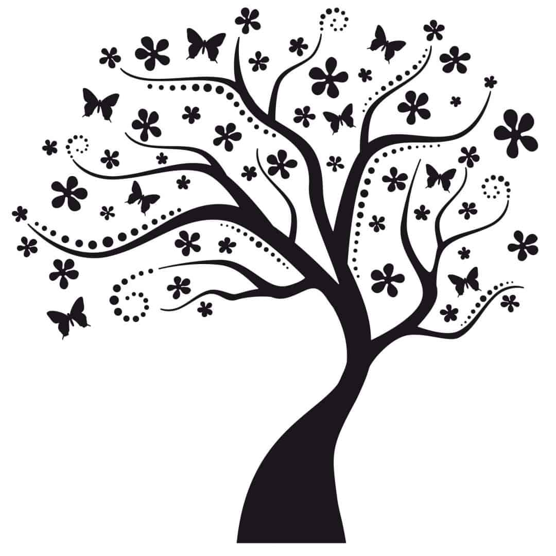 Dream Tree Incl 5 Photo Frames Wall Sticker
