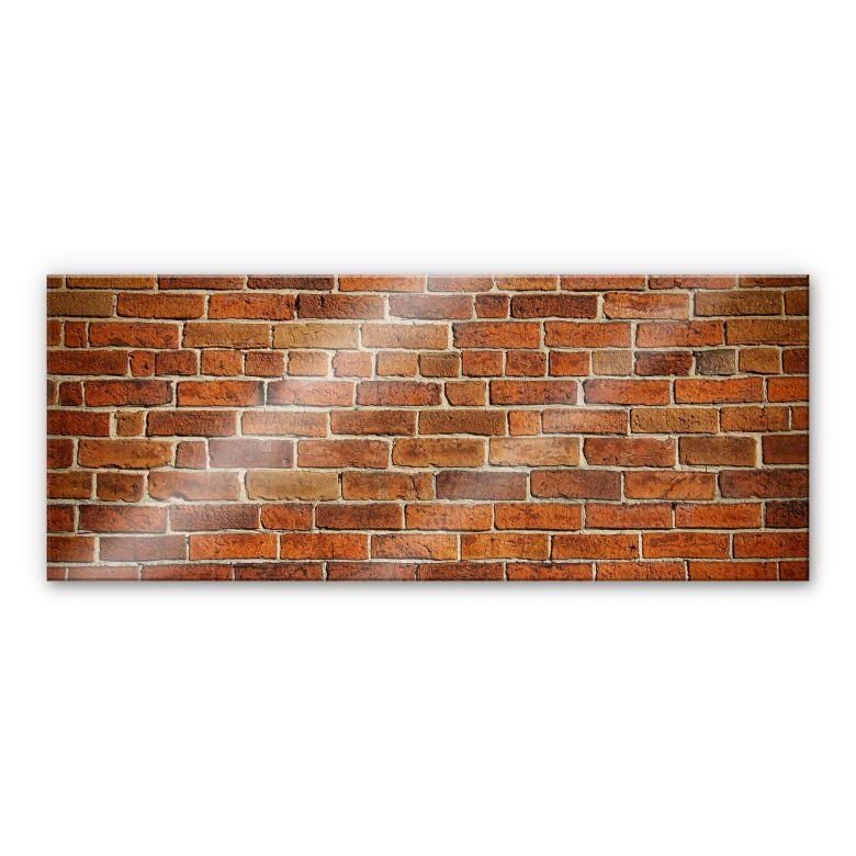 credence mur de briques panorama