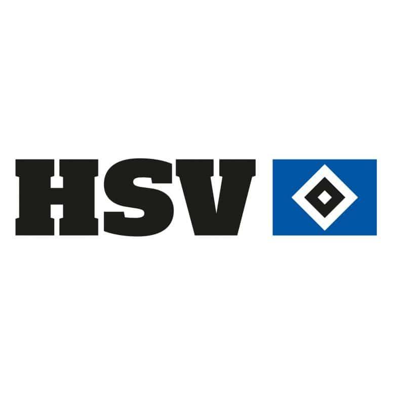 wandtattoo hsv logo mit schriftzug