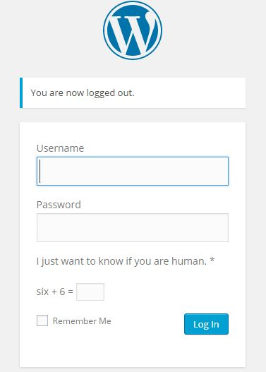 captcha entry before login