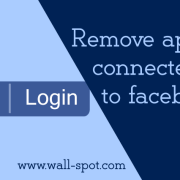 Remove connected apps from facebook