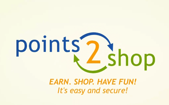 Points2Shop Reward Program - wall-spot