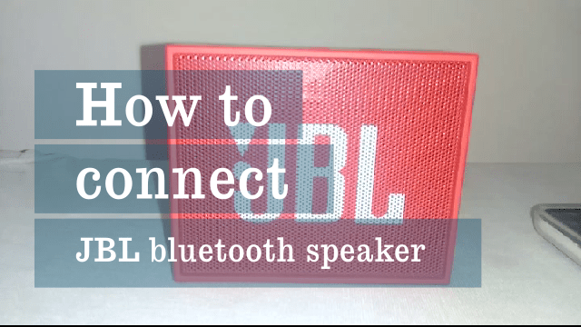 How To Pair JBL Go Portable Wireless Bluetooth Speaker With Android Phone