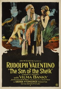 The Son Of The Sheik, 1926, United Artists, U.S. one-sheet, linen-backed Estimate: £20,000-30,000