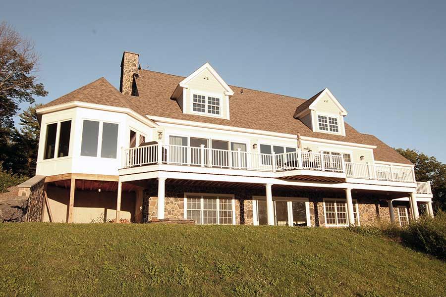 exterior - new home