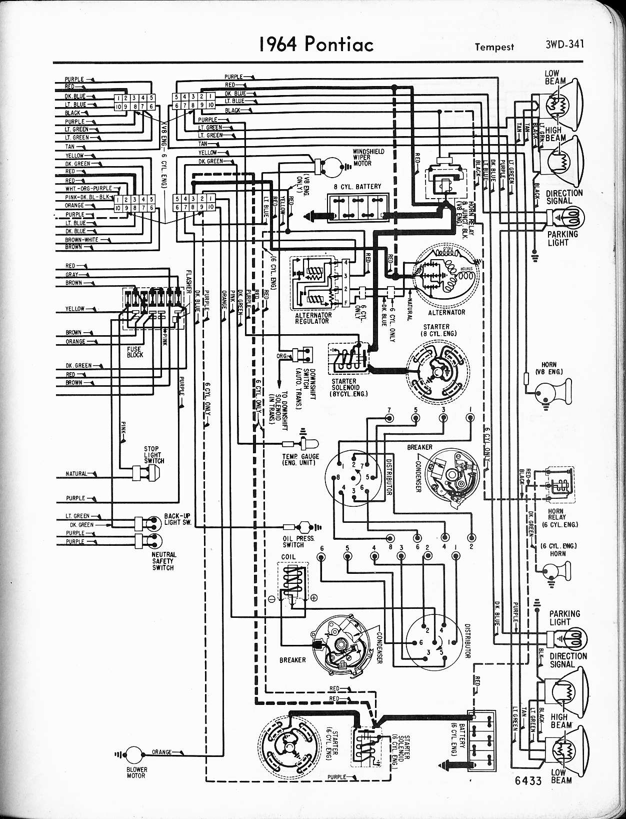 1968 Corvette Headlight Vacuum Diagram