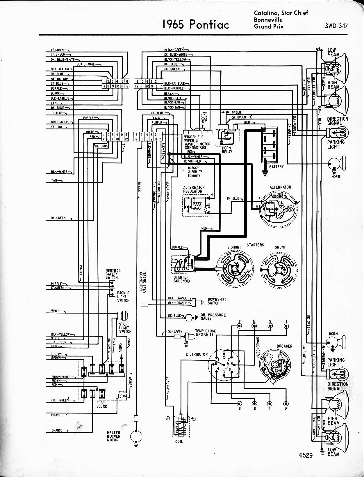 Chevelle Headlight Wiring Diagram