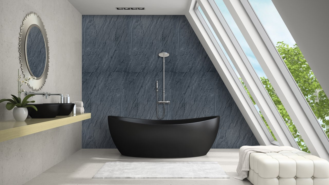 wall and ceiling panels bathroom