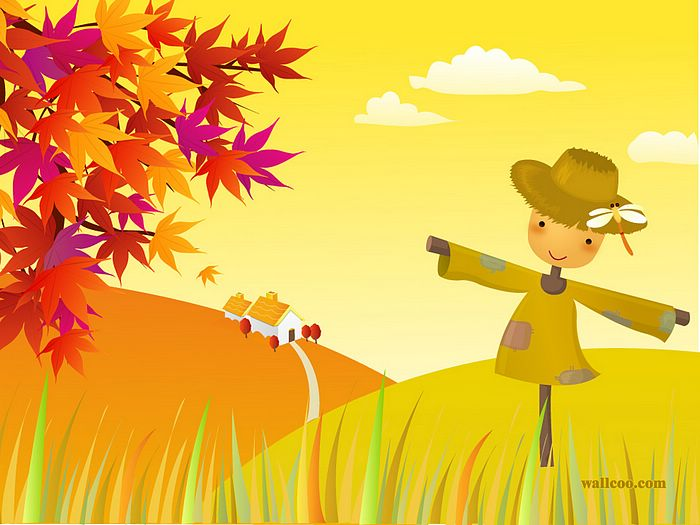Cartoon 1st Day Autum