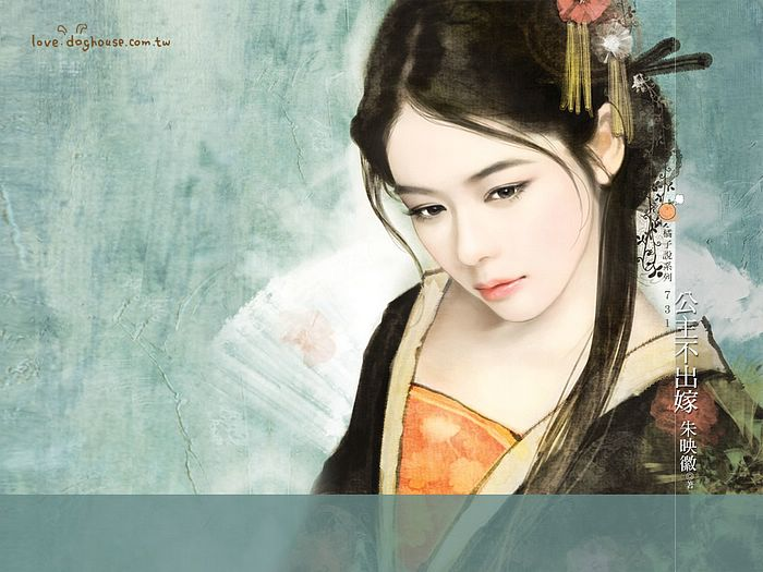 Graceful Ancient Chinese Girl Wallpaper  25