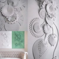 3D Wall Decoration for Living Room