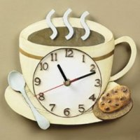 Kitchen clock wall decoration