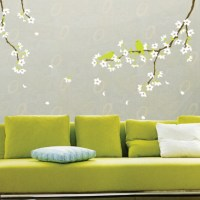 Spring Flowers Wall Decoration