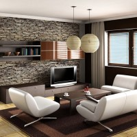 Modern Luxury living room wall decoration