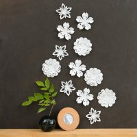 Origami Flower Wall Decor