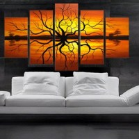 Living Room Elegant Wall Decoration