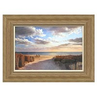 Sunset Beach Framed Wall Art