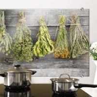Dried Herbs - Kitchen Splashback
