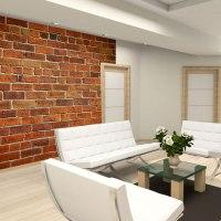 Brick Wall - Fleece Wallpaper