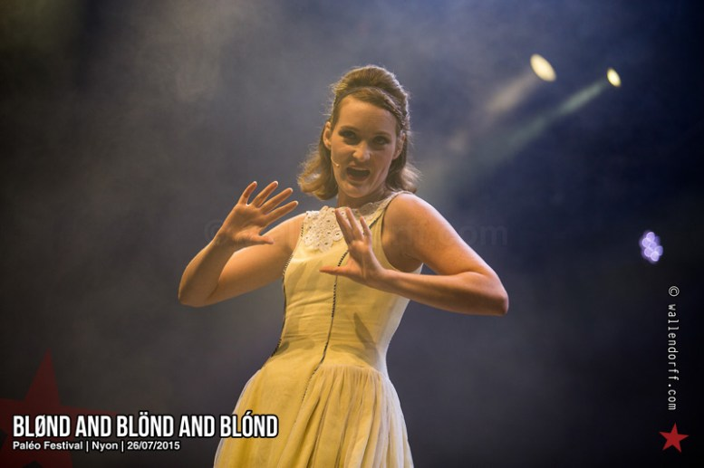 Blønd and Blönd and Blónd @ Paléo Festival, Nyon, 26/07/2015