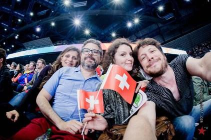 Suisse – Suède, quart de finale du championnat du monde de hockey sur glace 2017