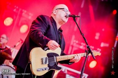 Pixies @ Paléo Festival, Nyon, 19/07/2017