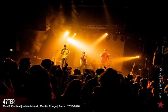 47ter @ MaMA Festival, la Machine du Moulin Rouge, 17/10/2018