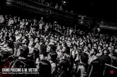 Oxmo Puccino & M. Victor @ MaMA Festival, la Cigale, Paris, 19/10/2018