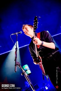 George Ezra @ la Cigale, Paris, 01/11/2018