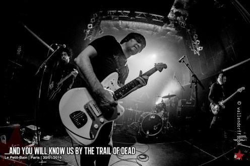 ...And You Will Know Us by the Trail of Dead @ le Petit-Bain, Paris, 30/01/2019