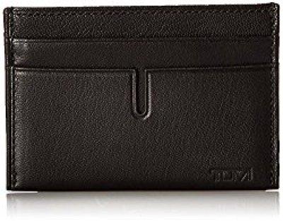 Tumi card wallet for men