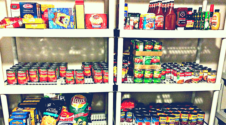 6 stockpile myths you've actually believed! This photo features a stockpile of food!