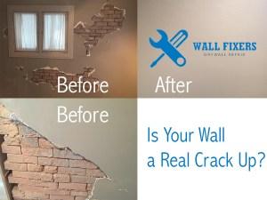 Crack Up Plaster Repair