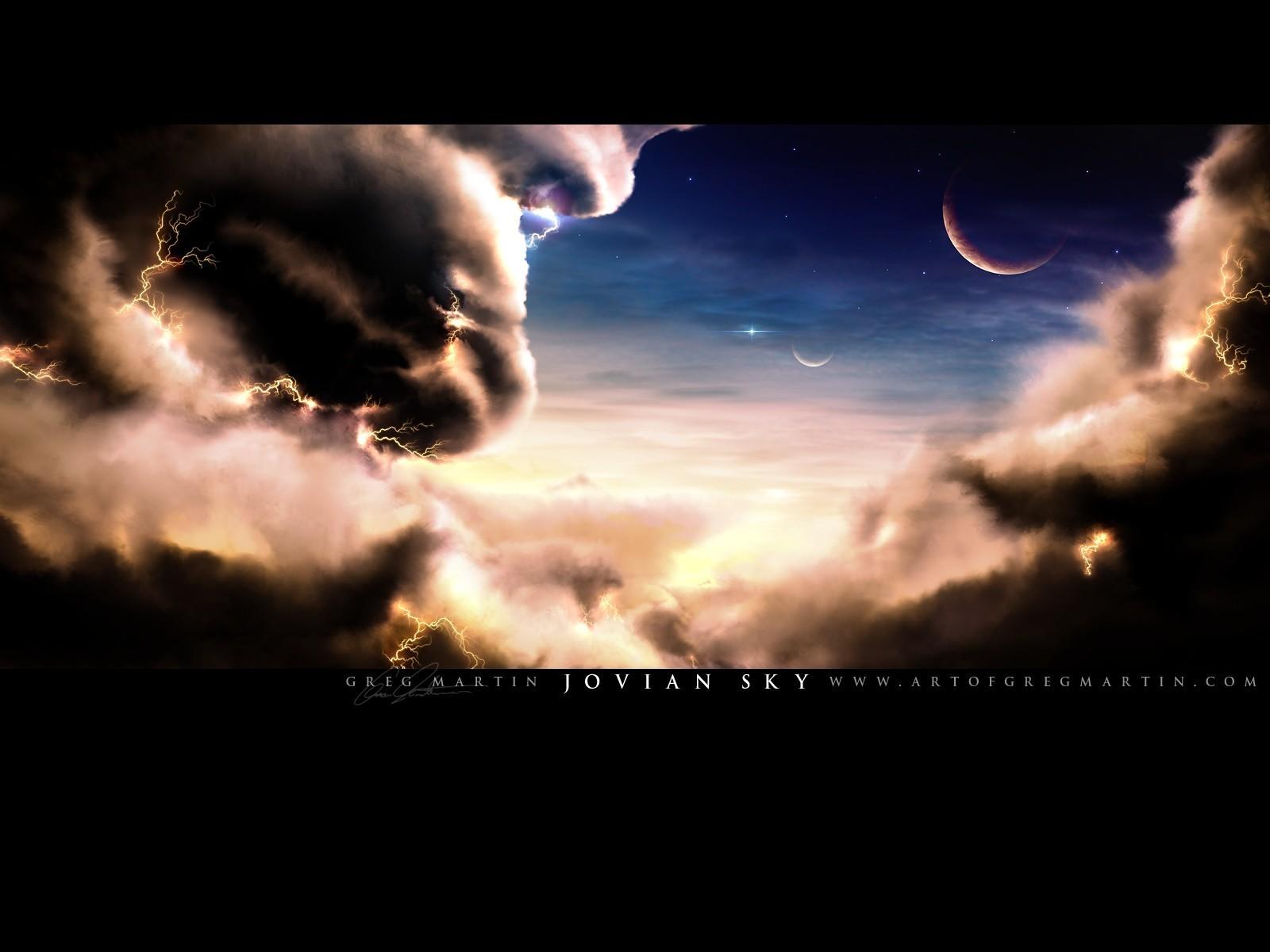 Fond d'ecran Jovian Sky