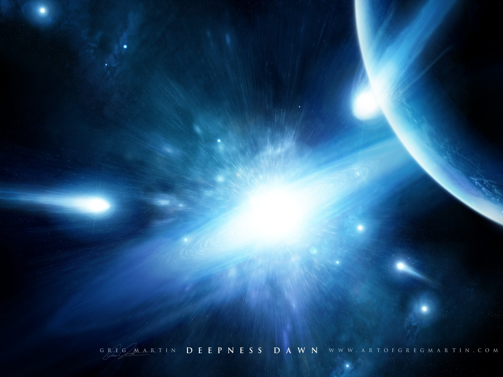 Fond Decran Deepness Dawn Wallpaper