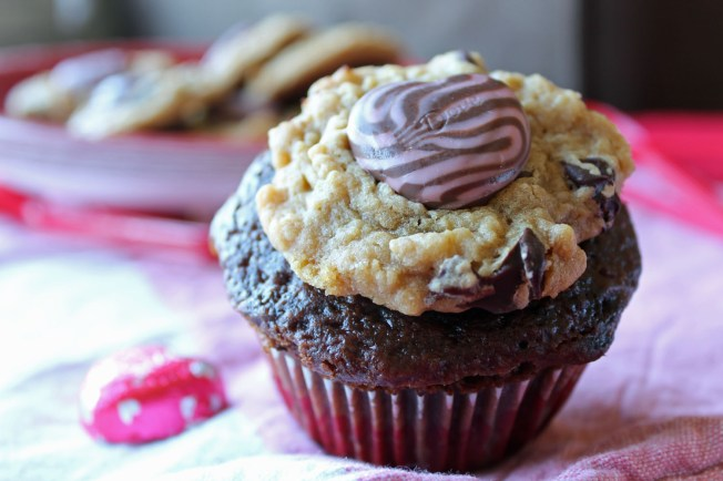 Lovey Dovey Trifecta Cookies and Sweetheart Cupcakes 7--021413