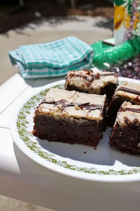 Extra Fudgy Kahlua Brownies 7--071813