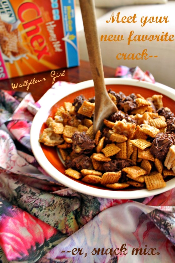 Caramel 'Could Be Crack' Snack Mix 5--111113