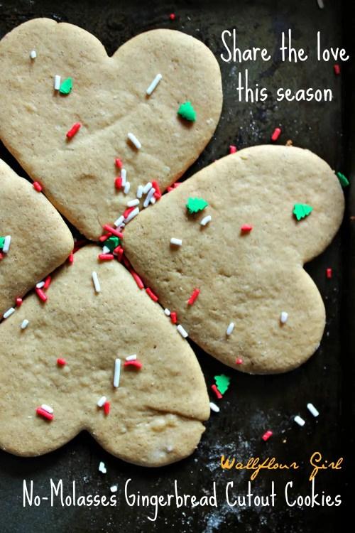 No-Molasses Gingerbread Cutout Cookies 23--122413