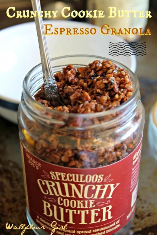 Crunchy Cookie Butter Espresso Granola 2--010614