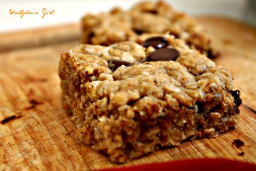 Idiot-Proof Healthy Chocolate Chip Oat Bars 5--012214