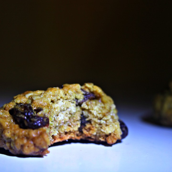 Classic Spiced Oatmeal Raisin Cookies