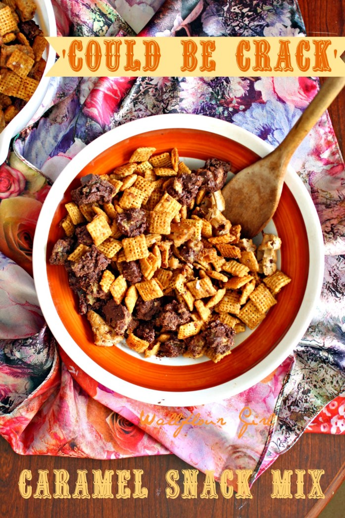 Caramel 'Could Be Crack' Snack Mix 2--111113