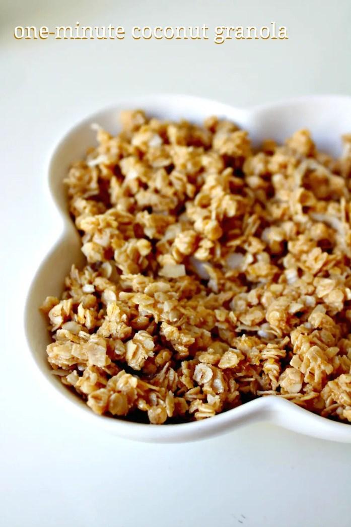 1-minute Coconut Granola 7--102614