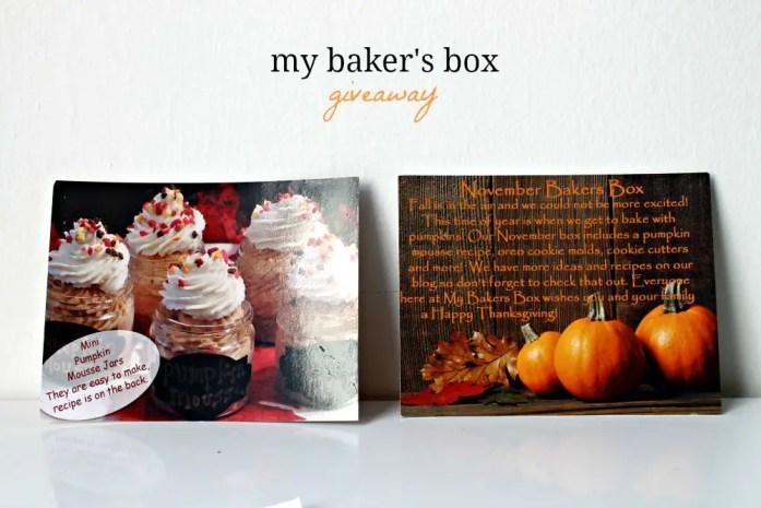 Baker's Box 6--121214