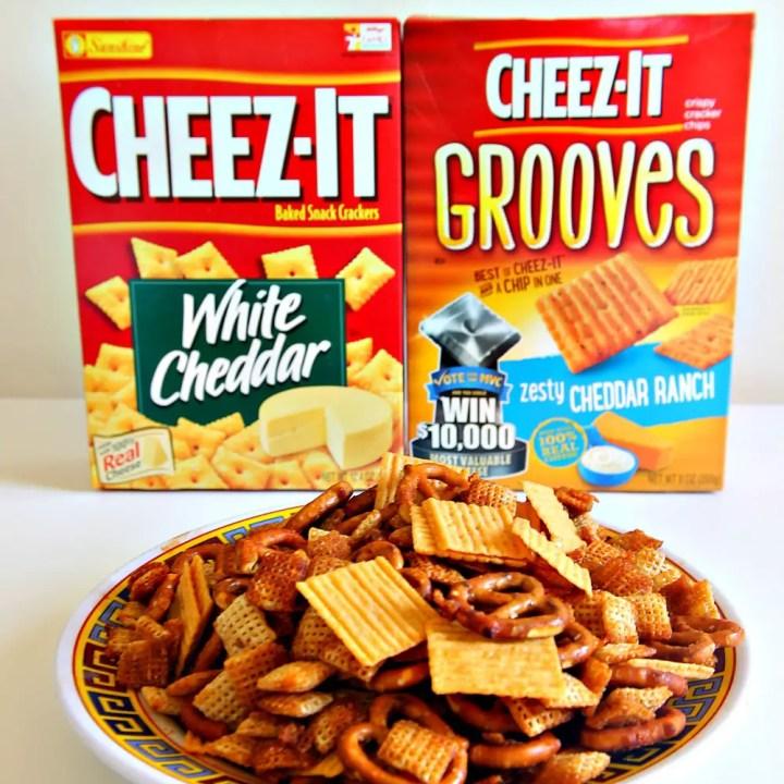 Cheez-It Spicy Snack Mix
