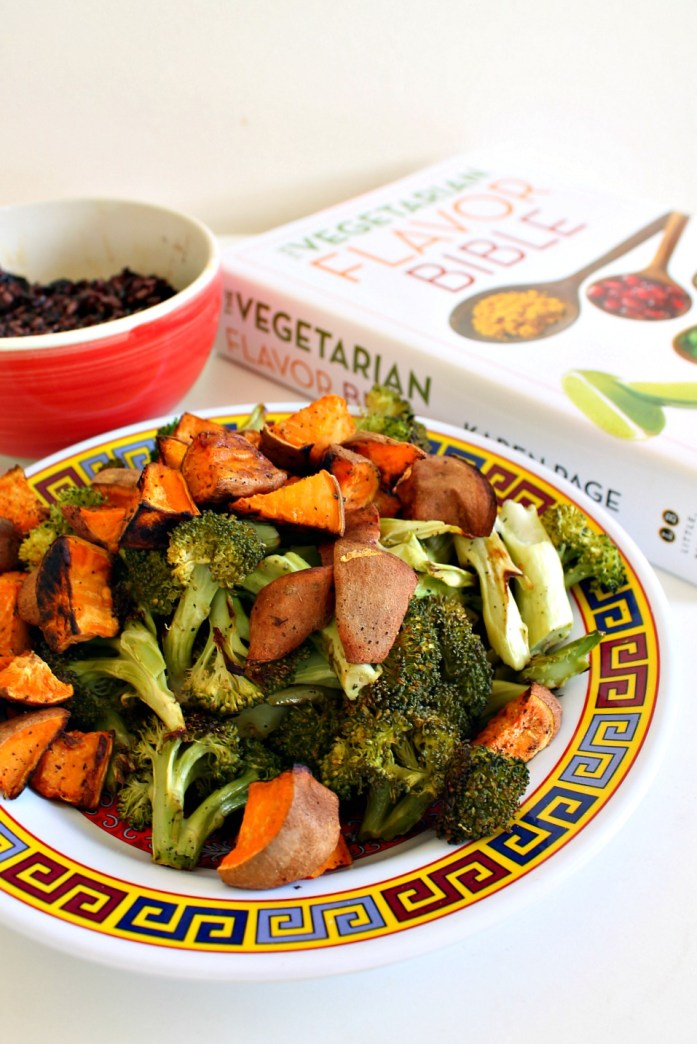 Roasted-Broccoli-and-Sweet-Potato-Black-Rice-Bowl-Sesame-Dressing 8--051215