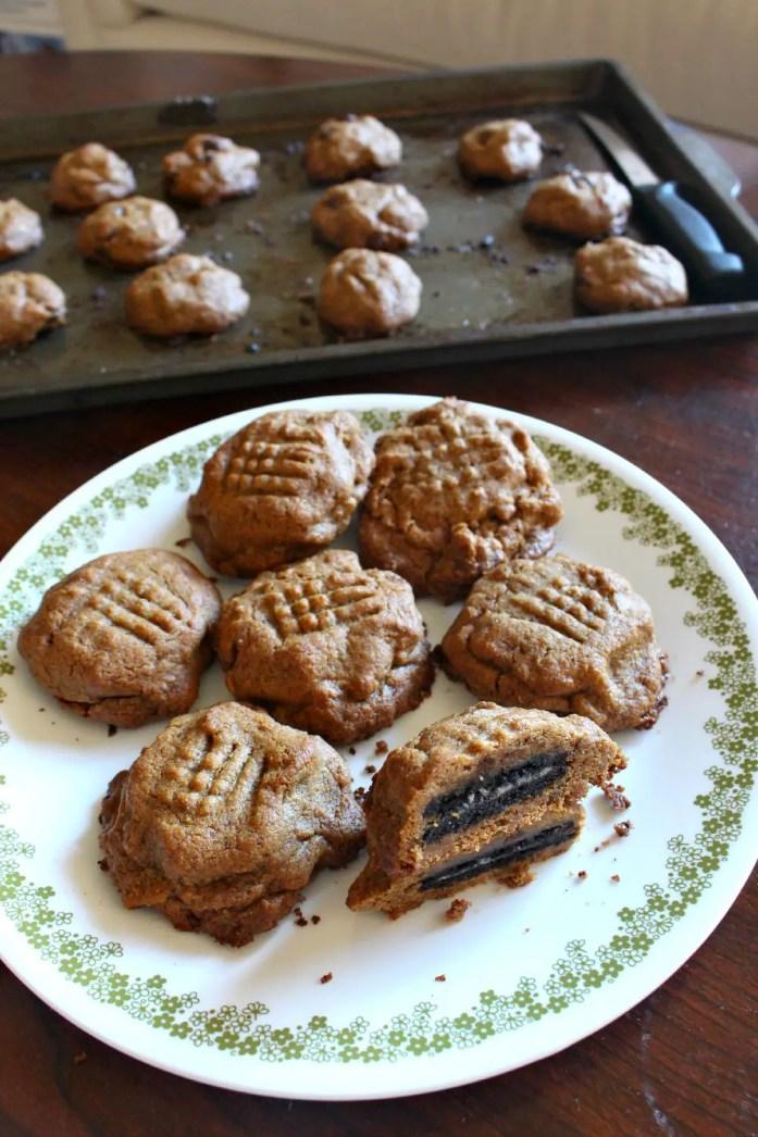 Oreo-Stuffed Peanut Butter Cookies 10--081715
